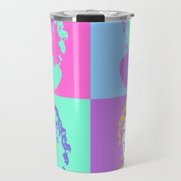 Vaporwave Aesthetic - Colour Travel Mug