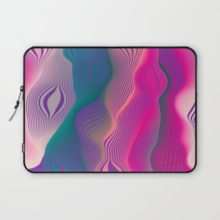 Colors bubbles Laptop Sleeve