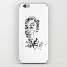 Bill Nye Portrait iPhone Skin