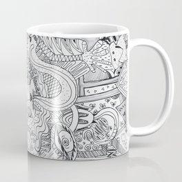 Monsters In My Closet Coffee Mug