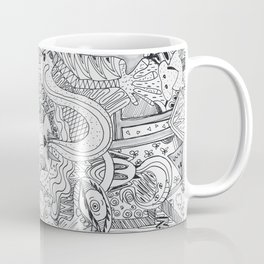Monsters In My Closet Coffee Mug