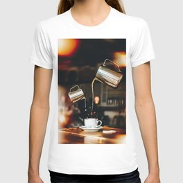 Pour Me Some Coffee Please T-shirt