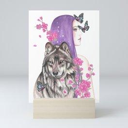 Blossomtime Mini Art Print