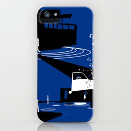 Houseboat iPhone Case