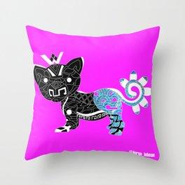 Cougar del mar ecopop Throw Pillow