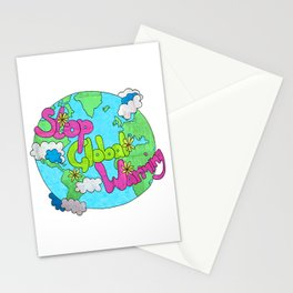 Stop Global Warming Stationery Cards