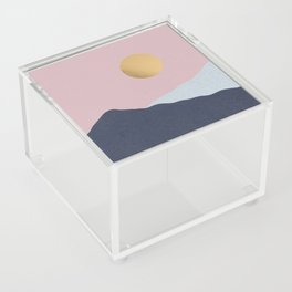 Minimal Mountains Acrylic Box