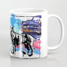German Shepherd pop art Mug