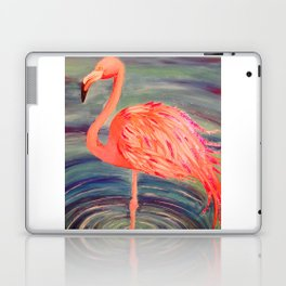 Fancy Flamingo Laptop & iPad Skin