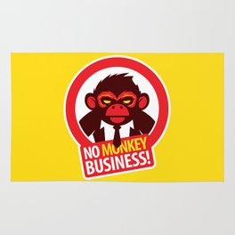 No MONKEY Business! Rug