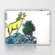 Goatie McGoatersons (colored version) Laptop & iPad Skin