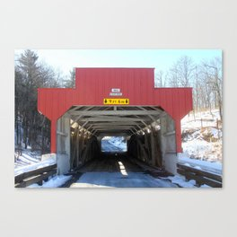 Geiger's Covered Bridge Canvas Print