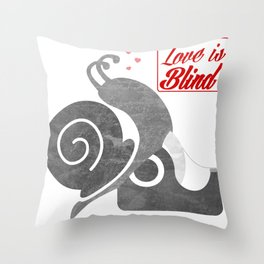 Love is bind Throw Pillow