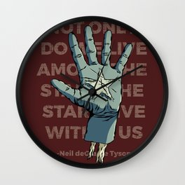 Stars Within Us Wall Clock