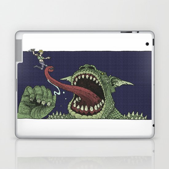 Troll Killer Laptop & iPad Skin