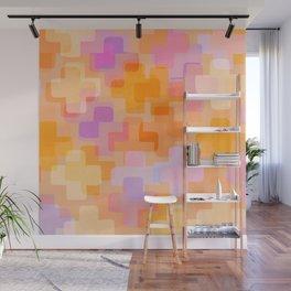It All Adds Up / Abstract Shapes Pattern Wall Mural