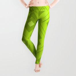 Green Room Pattern Leggings