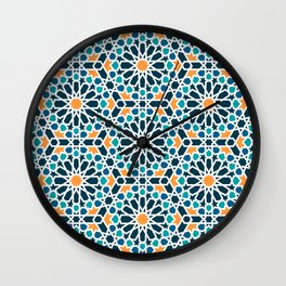 Tile of the Alhambra Wall Clock