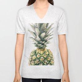 Pineapple crystallize Unisex V-Neck