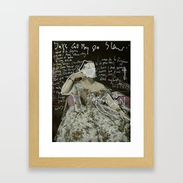 Days Go By/ Forgiven Framed Art Print