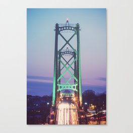 Symmetry of the Span Canvas Print