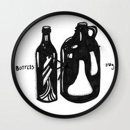 Bottle & Jug Wall Clock