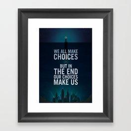 Bioshock Rapture Quote Framed Art Print
