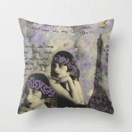 KIKI Throw Pillow
