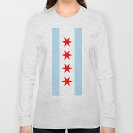 Chicago City Flag Windy City Standard Long Sleeve T-shirt