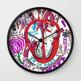 My Heart is Smart Wall Clock