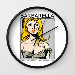 Barbarella - Queen Of The Galaxy Wall Clock