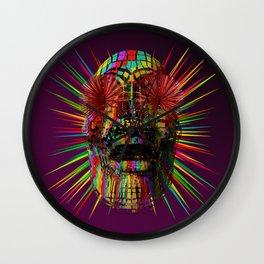 PzySkull Wall Clock