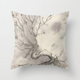 Tree-Spirit Throw Pillow