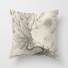 Tree-Spirit Throw Pillow
