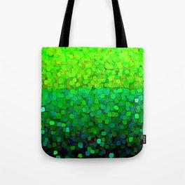 Glitter Sparkles Green Tote Bag