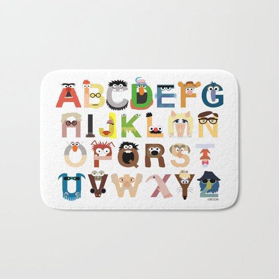 Muppet Alphabet Bath Mat