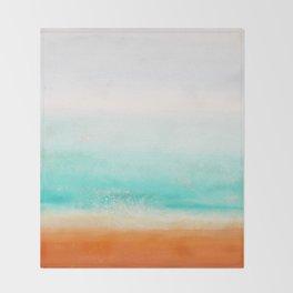 Waves and memories 02 Throw Blanket