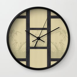 Tatami - Bamboo Wall Clock
