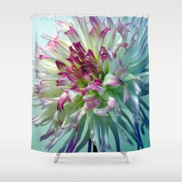 Dazzle Me, Dahlia! Shower Curtain