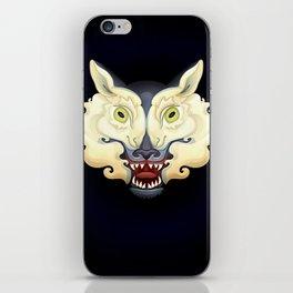 Wolf Lamb iPhone Skin