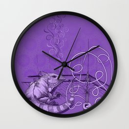 Lounge Lizard Wall Clock