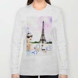 Brunch  in Paris Long Sleeve T-shirt