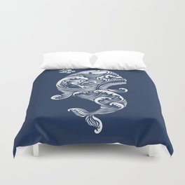 The White Whale  Duvet Cover