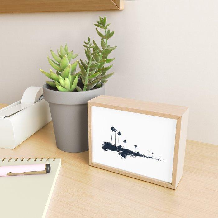 Palm 06 Framed Mini Art Print
