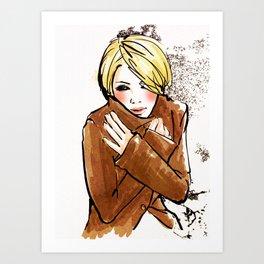 Its Cold... Art Print