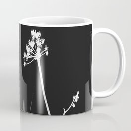 SEA PLANTS W&B Coffee Mug