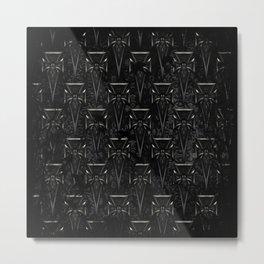 Goth Crosses Metal Print