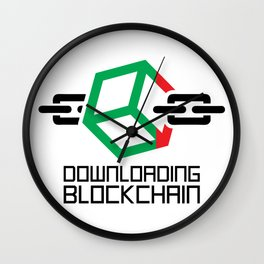 Downloading Blockchain Wall Clock