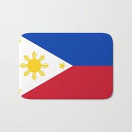 Philippines national flag Bath Mat