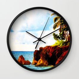 Connect With Nature Wall Clock